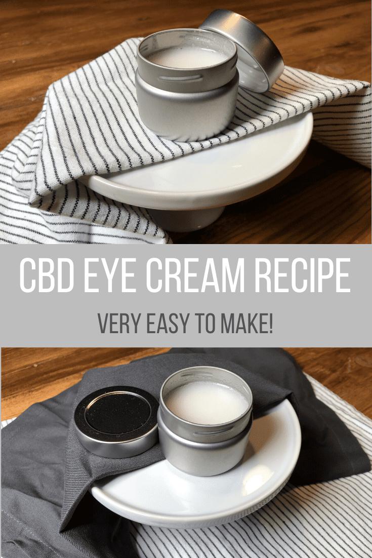 CBD Eye Cream Recipe - Easy to Make
