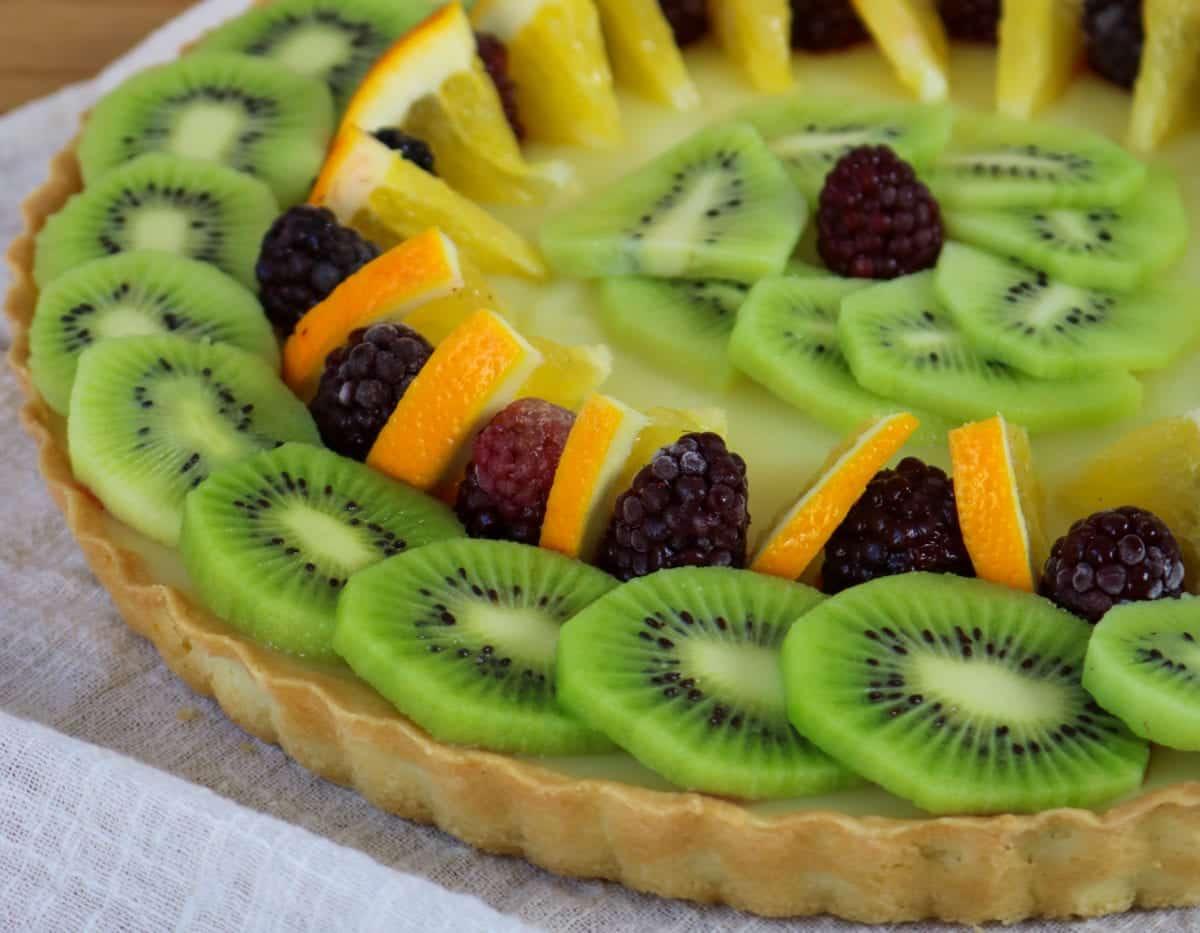 Simple CBD Fruit Tart Recipe