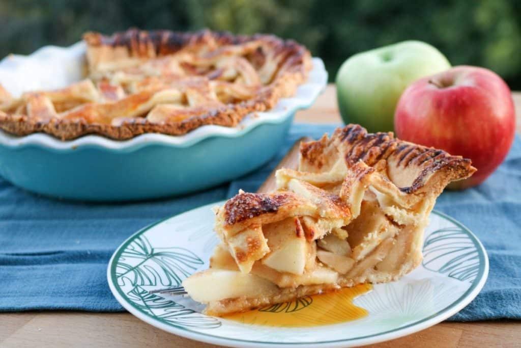 How to make CBD apple pie recipe