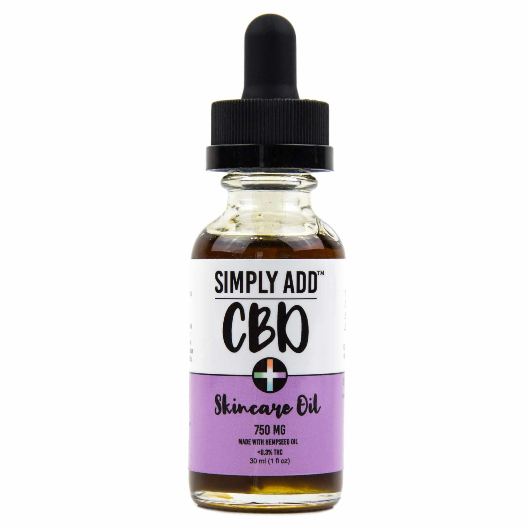 Simply Add CBD skincare oil for crafting cosmetics