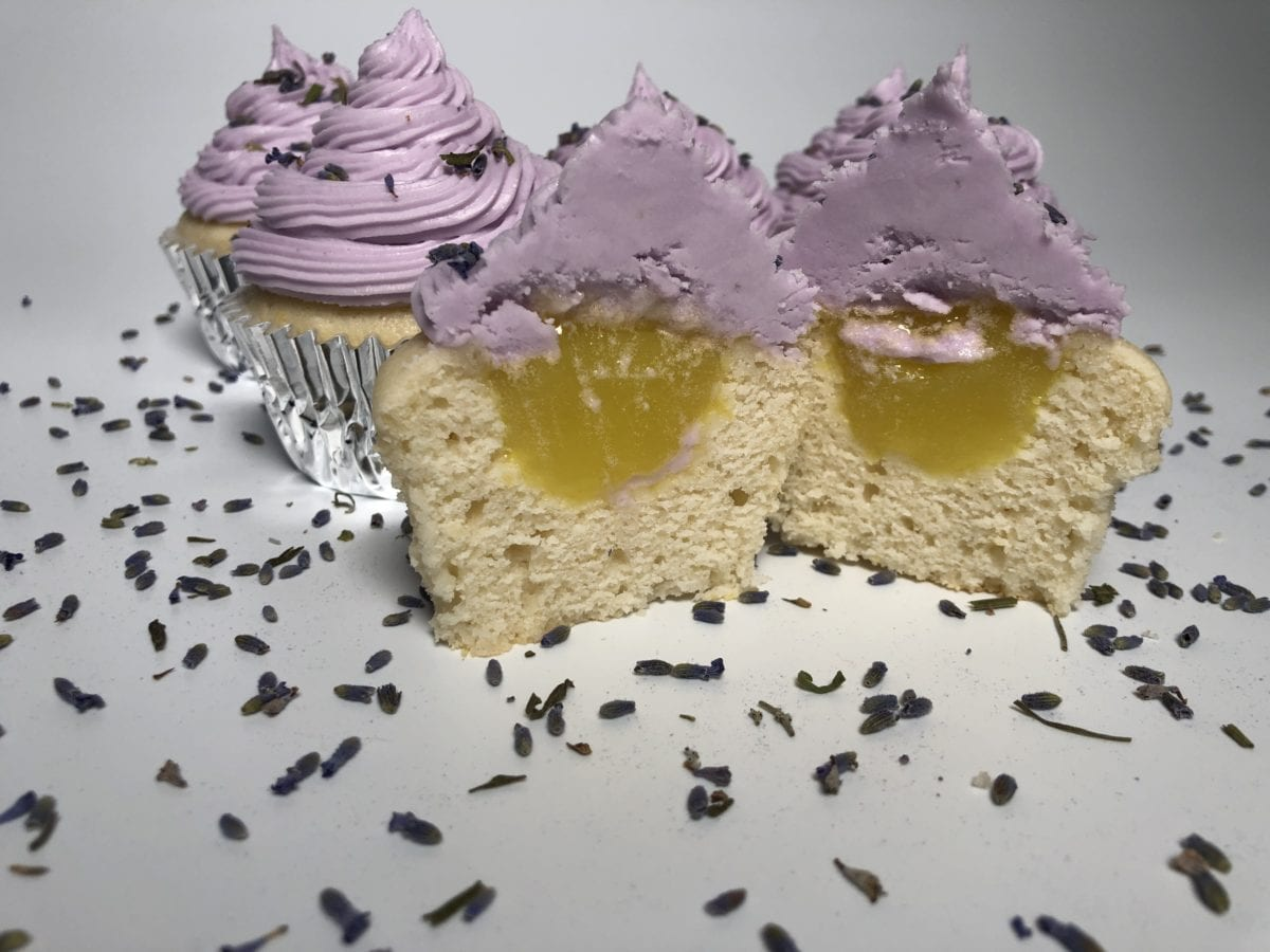 Simple CBD Lemon Lavender Cupcake Recipe