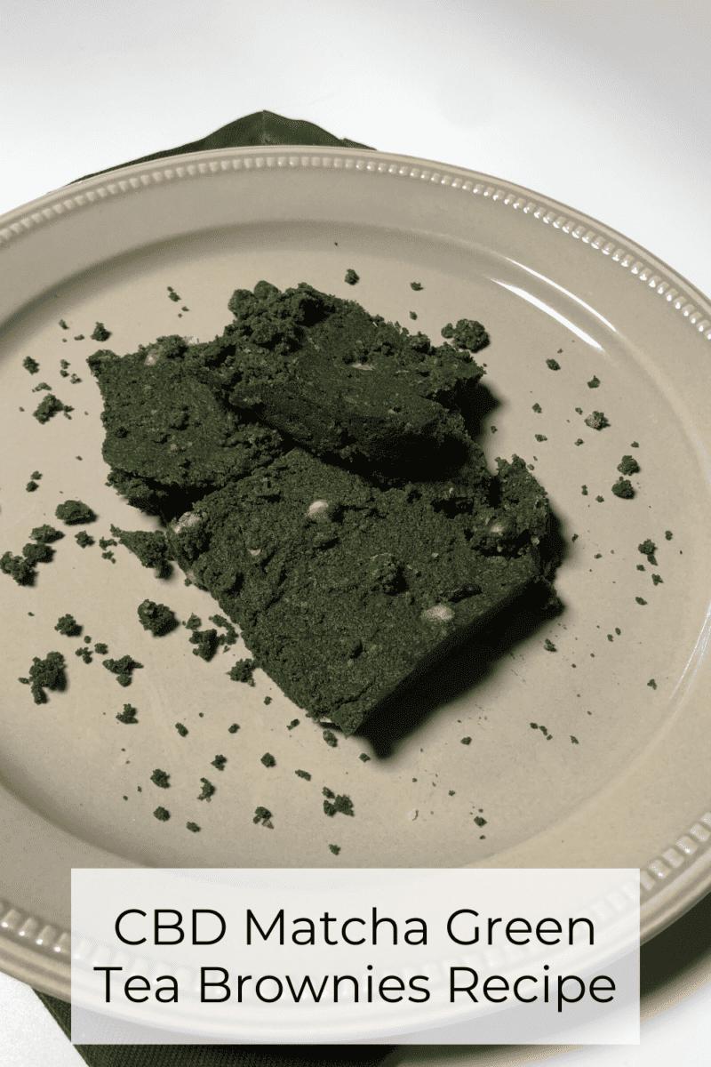 CBD Matcha Green Tea Brownies Recipe