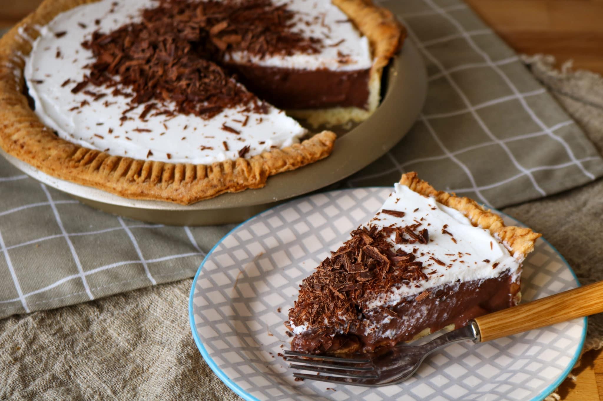 CBD Chocolate Cocoa Pie Recipe