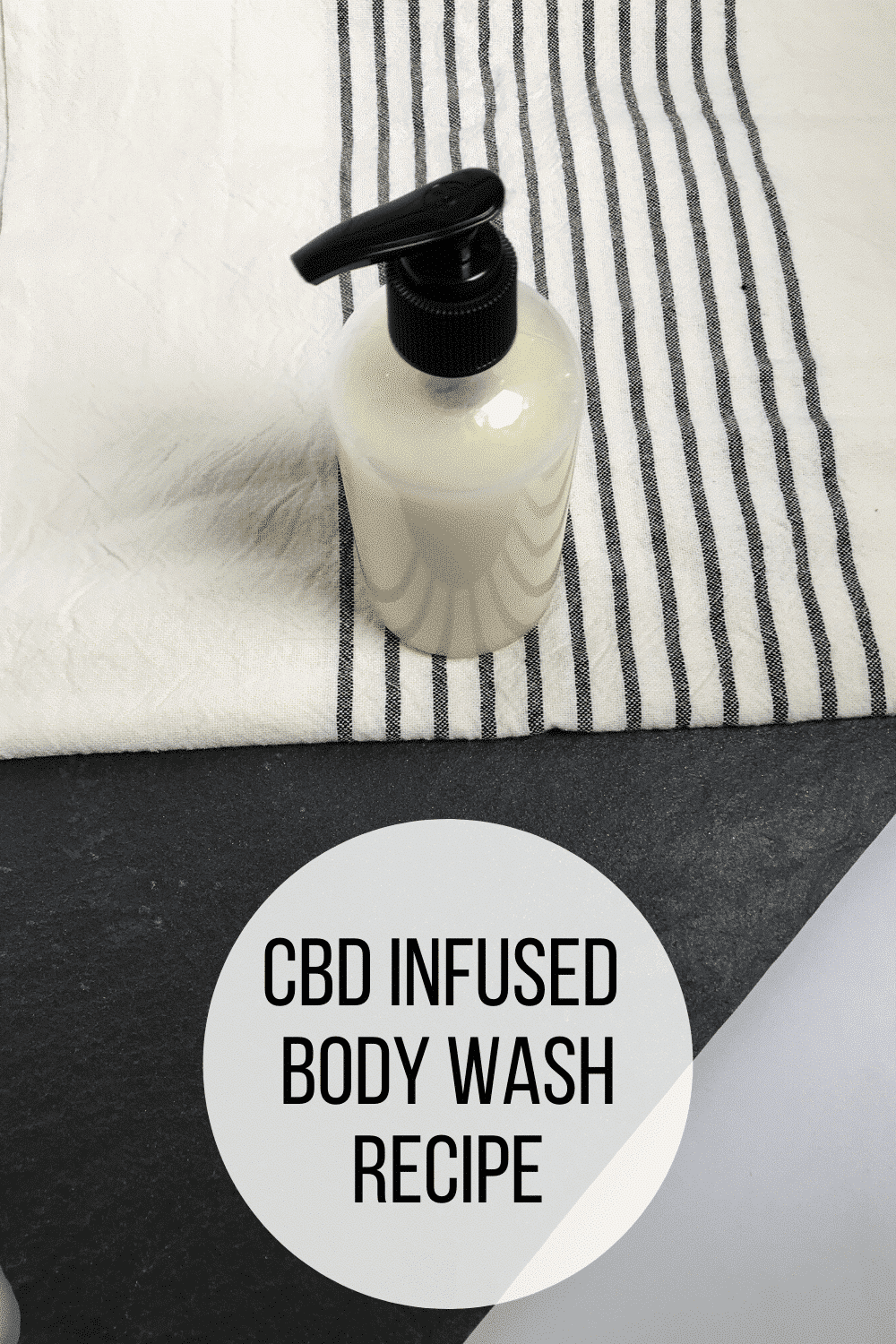 CBD Infused Body Wash Recipe