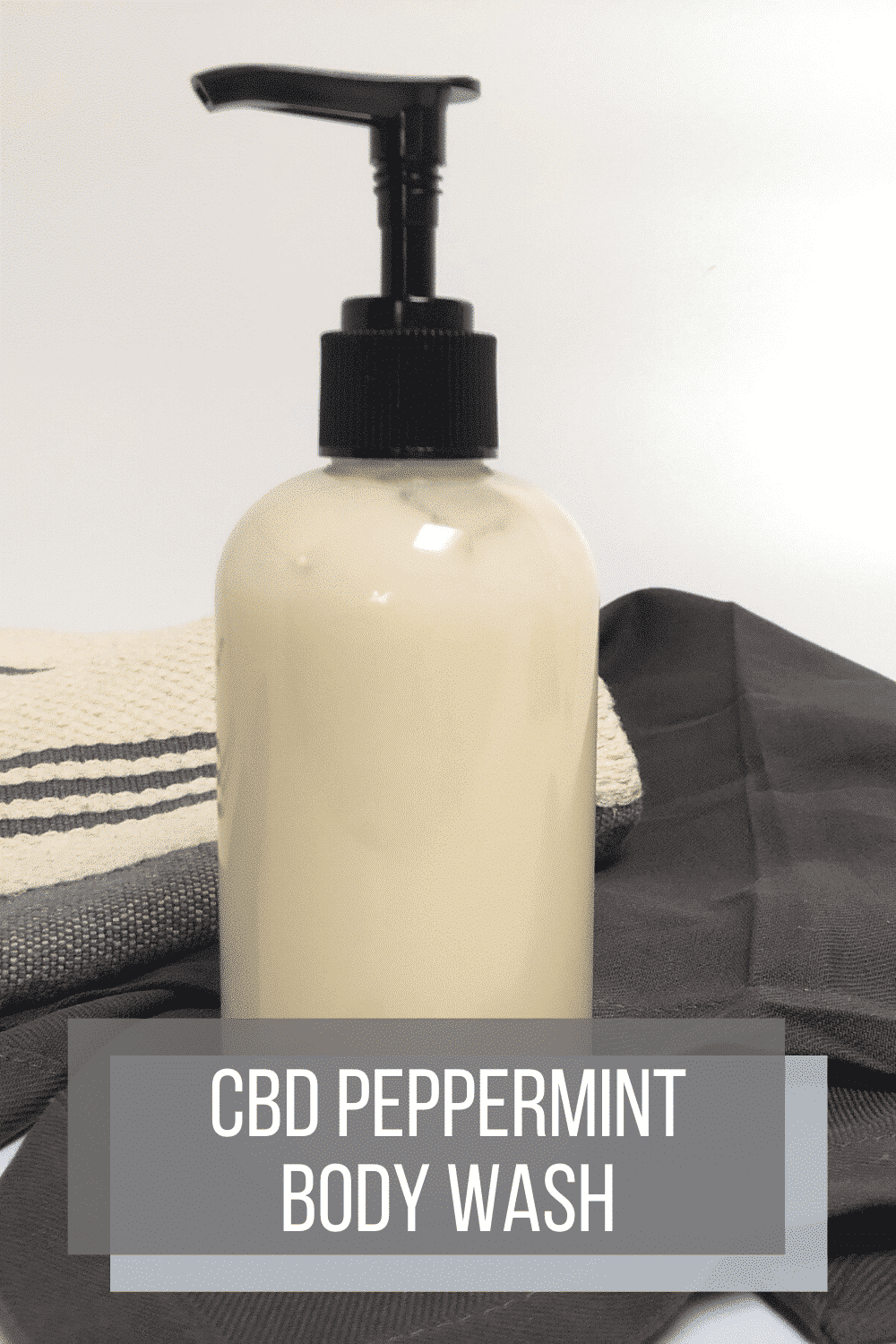 CBD Peppermint Body Wash